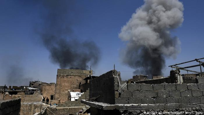 Irak - Kämpfe in Mossul (picture-alliance/dpa/ZUMA Wire/C. Guzy)