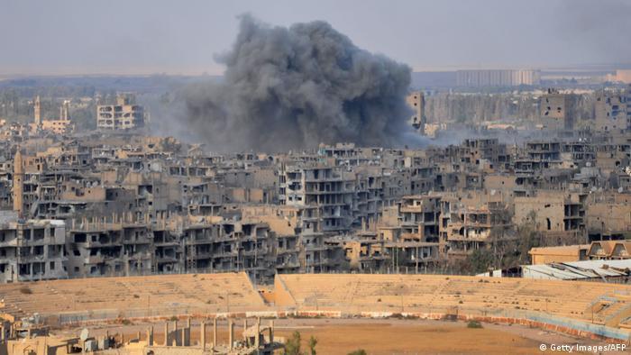 Syrien Krieg - Kämpfe in Deir ez-Zor