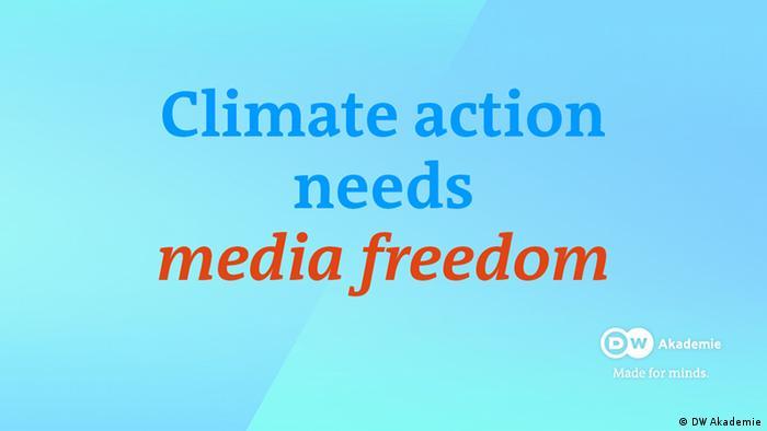 DW Akademie Climate | Claim