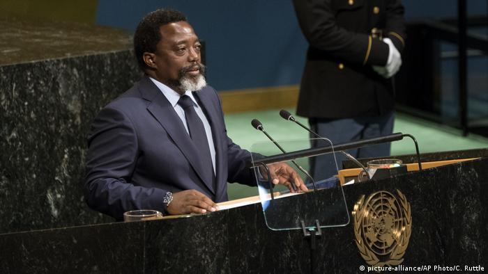 President of the Democratic Republic of the Congo Joseph Kabila (picture-alliance/AP Photo/C. Ruttle)