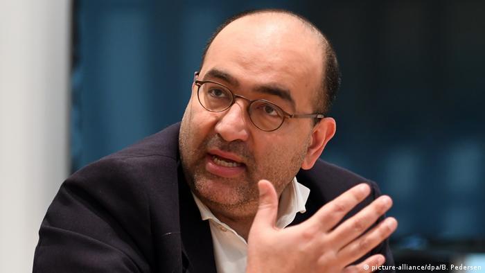 Deutschland Koalitionsgespräche Berlin Archibild Omid Nouripour (picture-alliance/dpa/B. Pedersen)