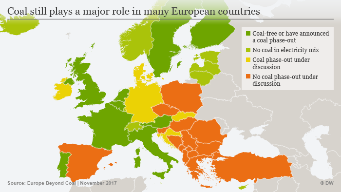 Coal in Europe (copyright: DW)