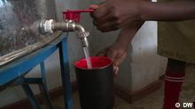 Filtering drinking water for students in Uganda