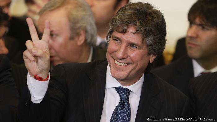 Argentinien Amado Boudou, Vize-Präsident 2014 (picture-alliance/AP Photo/Victor R. Caivano)