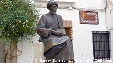 Bronzestatue Mann Turban (Harvey Barrison via Wikimedia Commons)