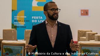 Abraão Vicente, Kulturminister von Kap Verd (West Afrika)