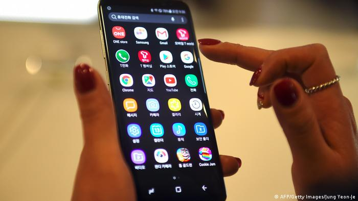 Samsung Galasy S8 Android (AFP/Getty Images/Jung Yeon-Je)