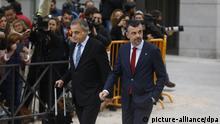 Krise in Katalonien, Santi Vila auf dem Weg zum Staatsgerichtshof