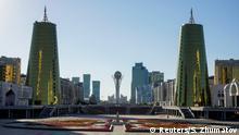 Kasachstan Denkmal Baiterek in Astana
