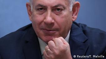 Grußbritannien Netanjahu Rede in Chatham House in London