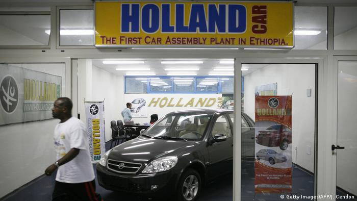 Ethiopia's Abay new motor show in Addis Ababa (Getty Images/AFP/J. Cendon)