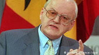 Bundespräsident Herzog bei Berliner Rede