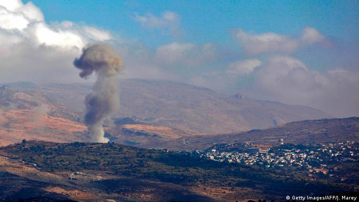 Israel Syrien Konflikt in der Grenzregion beim Dorf Hader