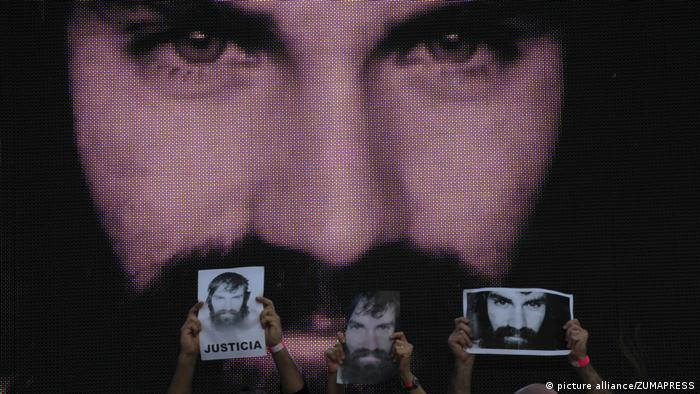 Demonstration für Santiago Maldonado in Buenos Aires (picture alliance/ZUMAPRESS)