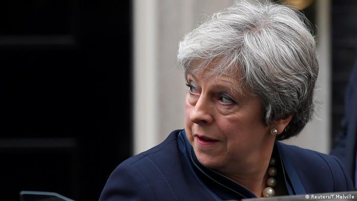 Theresa May (Reuters/T.Melville)