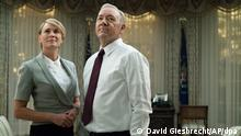 Schauspieler Kevin Spacey der Netflix-Serie House of Cards