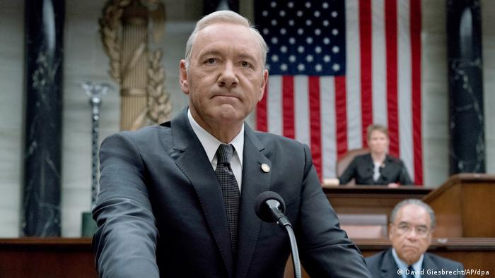 Actor Kevin Spacey in House of Cards