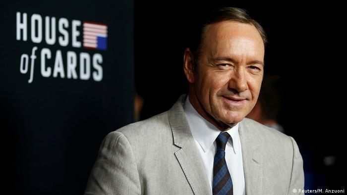 Schauspieler Kevin Spacey der Netflix-Serie House of Cards (Reuters/M. Anzuoni)