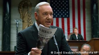 Schauspieler Kevin Spacey der Netflix-Serie House of Cards (David Giesbrecht/Netflix via AP)