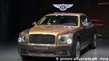 China Peking - Auto China 2016 motor show - Bentley Mulsanne