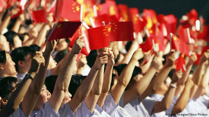 Patriotismo vem sendo incentivado desde que o presidente Xi Jinping assumiu o poder, em 2012