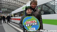 ICE-Sonderzug Train to Bonn zur 23. UN-Klimakonferenz