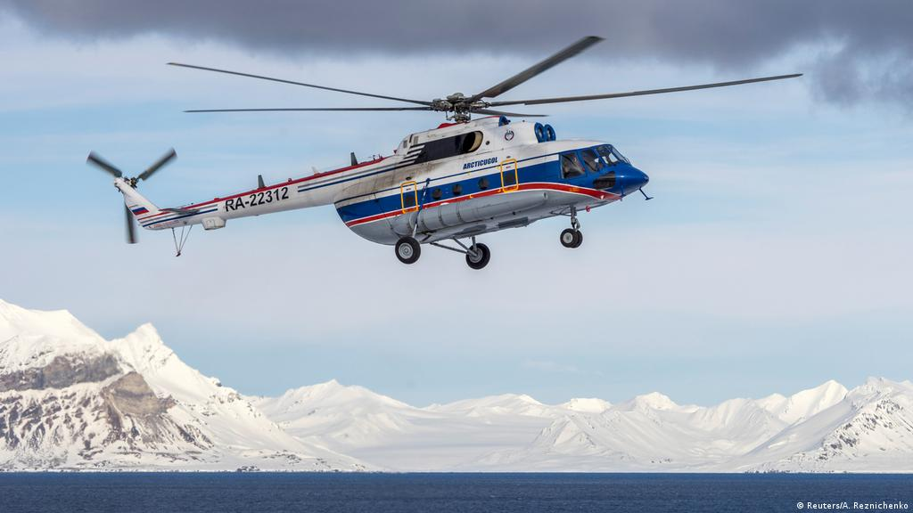 Russian chopper raised from Norwegian isle on Arctic seabed | News ...