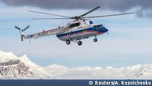 Norwegen Russischer Helikopter Mi-8