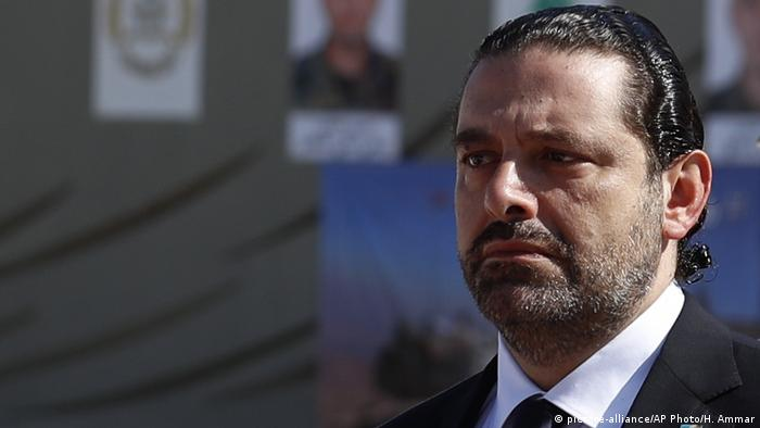 Primeiro-ministro demissionário do Líbano, Saad Hariri