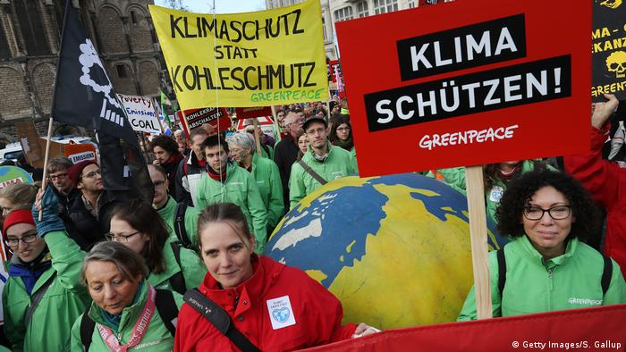 UN-Klimakonferenz 2017 in Bonn | Demonstration & Protest (Getty Images/S. Gallup)