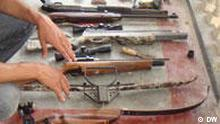 Large arms cache seized from Bhola madrasa The Rapid Action Battalion recovered a large cache of arms and ammunition, bomb-making materials and equipment Tuesday from a madrasa complex at Borhanuddin Upazila in the district Copyright: DW