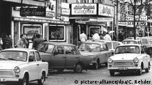 Trabant Auto Trabi DDR | 1989 Hamburg, Reeperbahn