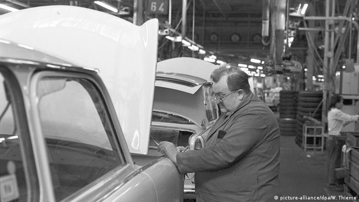 Fábrica de Trabant em Zwickau