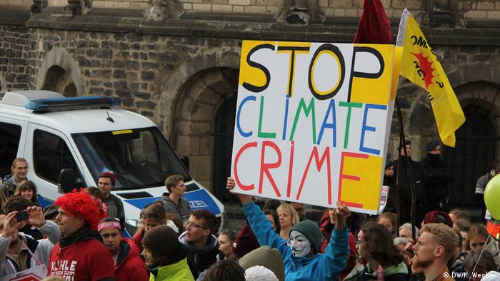 UN-Klimakonferenz 2017 in Bonn Proteste
