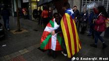 Spanien Bilbao Demonstration gegen Artikel 155