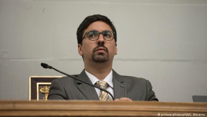 Vizepräsident des venezolanischen Parlaments Freddy Guevara (picture alliance/AA/C. Becerra )