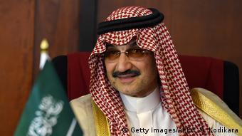 Billionär Al-Waleed Bin Talal bin Abdulaziz al Saud (Getty Images/AFP/I. S. Kodikara)