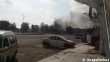 05.11.2017 +++ (171105) -- ADEN, Nov. 5, 2017 -- Smoke rises from the bomb attack site in Aden, Yemen on Nov. 5, 2017. A suicide car bomb killed eight soldiers in Yemen s temporary capital of Aden city in front of the well-guarded headquarters of the security forces on Sunday, a police official told Xinhua. ) (whw) YEMEN-ADEN-SUICIDE ATTACK Hasan PUBLICATIONxNOTxINxCHN