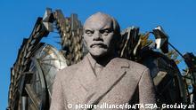 Russland Moskau - Lenin Statue im Muzeon Park
