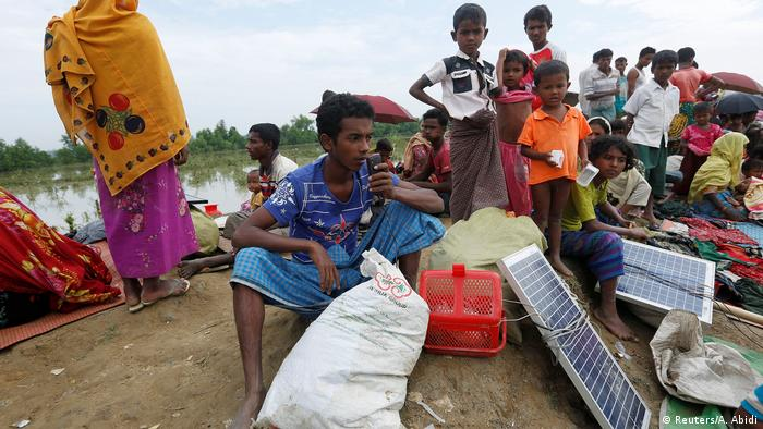 Rohingya refugees in Cox's Bazar