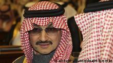 Saudi-Arabien Prinz Al-Walid bin Talal