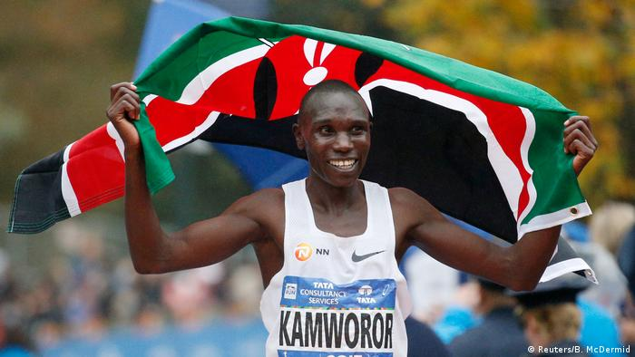 USA Marathon in New York City | Geoffrey Kamworor, Kenia (Reuters/B. McDermid)
