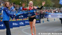 USA Marathon in New York City | Shalane Flanagan, USA