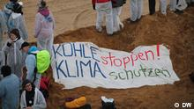 Climate Pacific Warriors and Ende Gelände protest in the Hambach coal mine, Germany. 05.11.2017. Author: Katharina Wecker and Irene Banos Ruiz