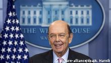 USA Handelsminister Wilbur Ross