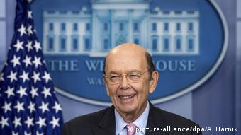 USA Handelsminister Wilbur Ross (picture-alliance/dpa/A. Harnik)