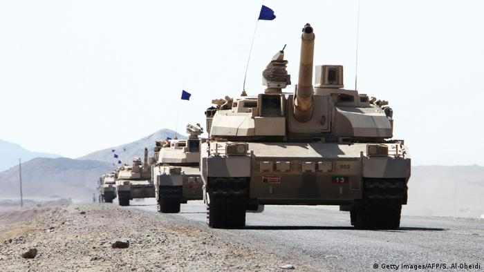 Tanks in Yemen (SALEH AL-OBEIDI/AFP/Getty Images)