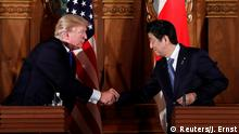 Japan PK Donald Trump und Shinzo Abe