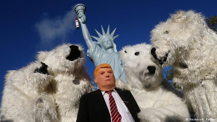 Ativistas criticam em Bonn o papel de Trump nos desafios ao clima
