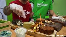Es zeigen die Veganfach - die größte und internationalste vegane Messe Europas. Foto: Kseniya Safronova, 3. November in Köln